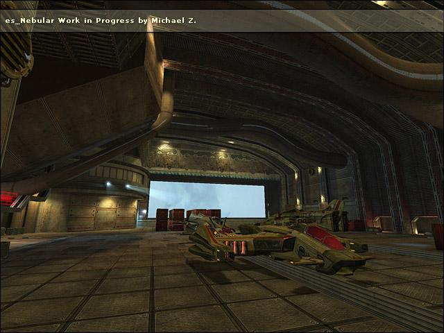 Nebular NGM Schiff Hangar